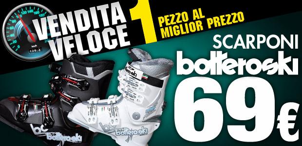 Scarponi da sci Bottero Ski a 69euro!!!