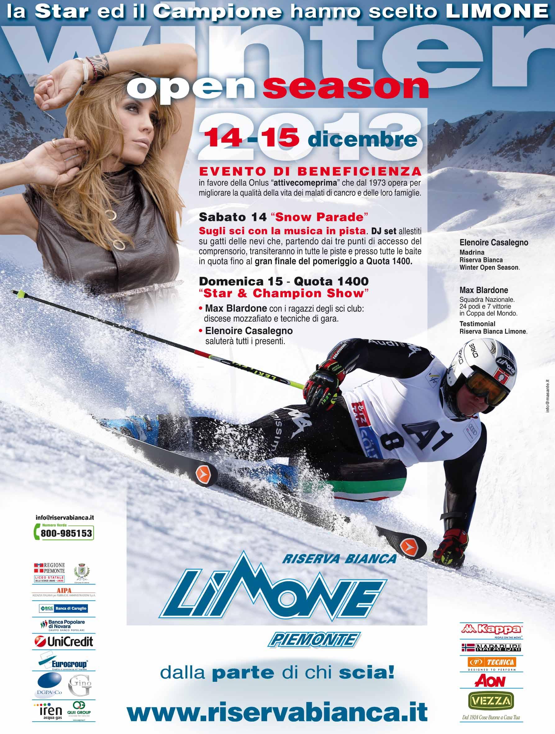 Winter Open Season a Limone Piemonte con Elenoire Casalegno e Max Blardone!