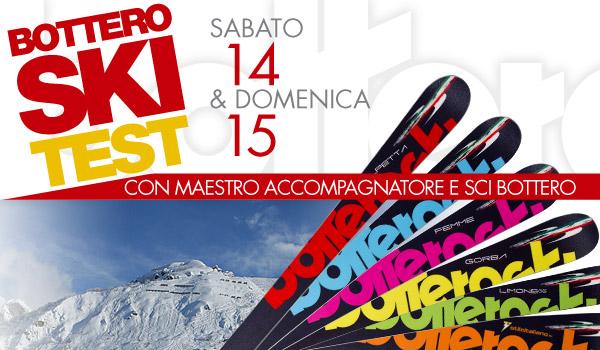 Ski Test Gratuito di tutta la collezione BotteroSki 2013/2014