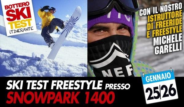 Sabato 25 e Domenica 26 Gennaio Skitest di Freestyle!!!