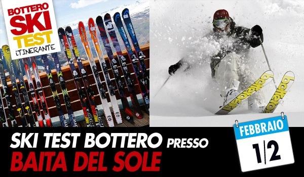 Bottero Ski Test questa settimana è presso la Baita del Sole!