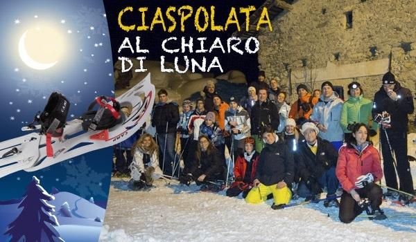 Sabato 22 Febbraio torna la Ciaspolata di Bottero Ski!!