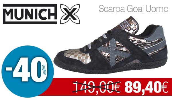 MUNICH, l'unica sneaker con il fattore X!