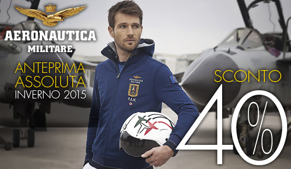 AERONAUTICA MILITARE in anteprima all'Outlet di Vernante!!!