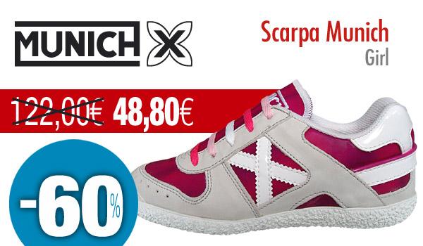 sconto in vendita professionale migliore a buon mercato MUNICH, l'unica sneaker con il fattore X!