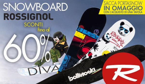 SNOWBOARD ROSSIGNOL: un'altra super offerta da non perdere!!!