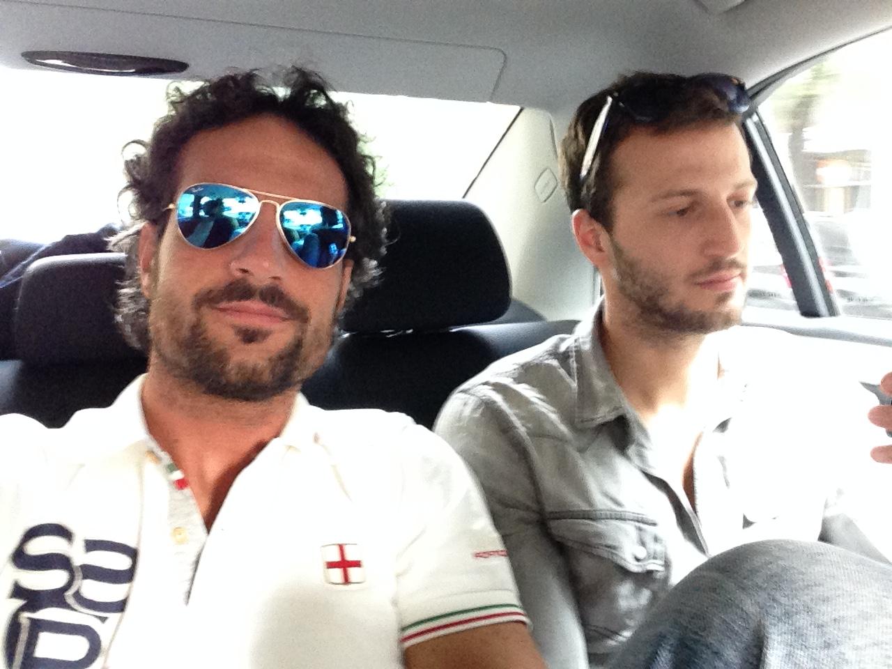 LUCA BETTI veste CANOTTIERI PORTOFINO!