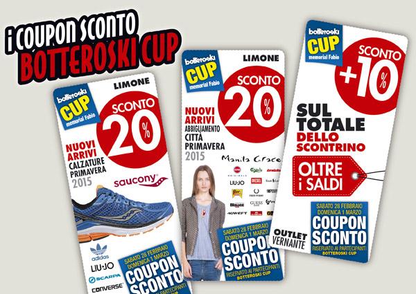 Coupon sconto in occasione della Botteroski Cup 2015