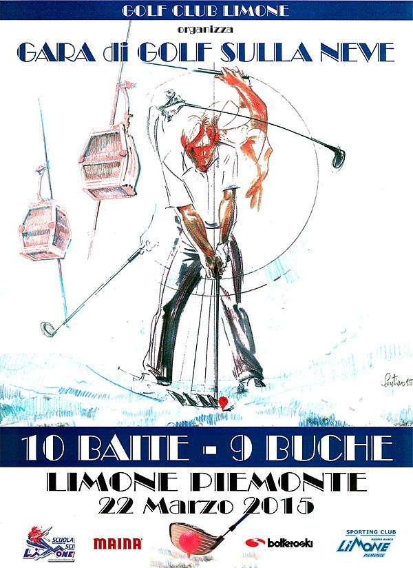 """Golf sulla neve """"10 Baite – 9 Buche"""": rimandato al 28 marzo"""