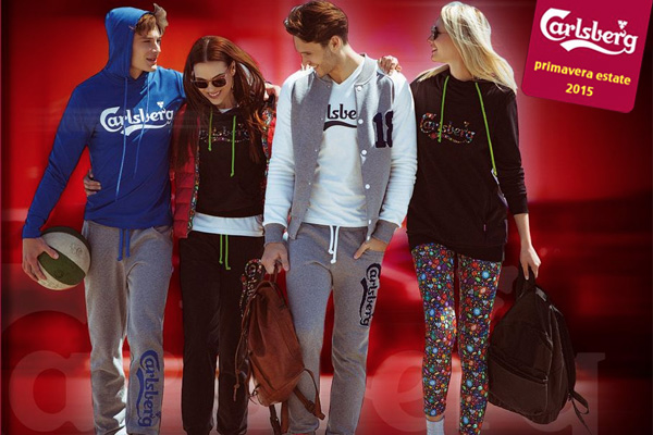 Carlsberg wear: colori e tendenza per la primavera estate 2015