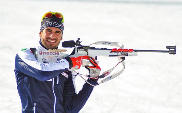 Pietro Dutto, il campione di biathlon che veste Botteroski