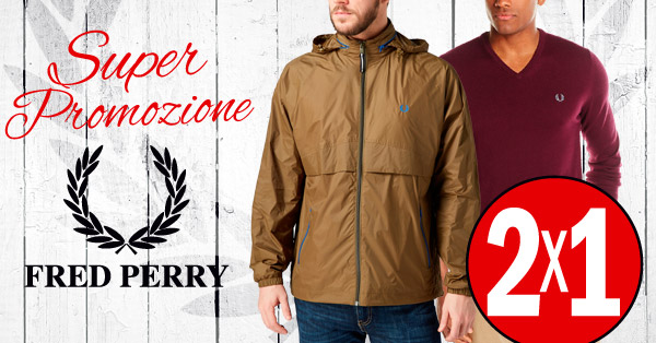 Tutto lo stile di Fred Perry in un'imperdibile offerta