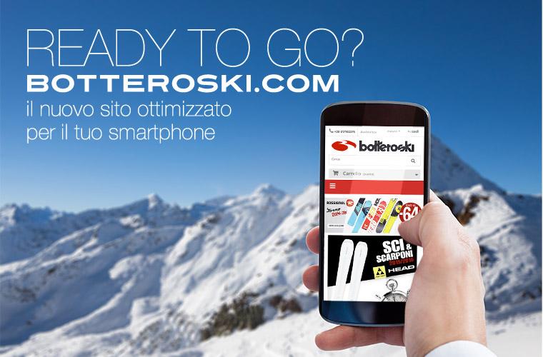 Nuovo sito, nuova offerta: su botteroski.com c'è il trasporto gratuito
