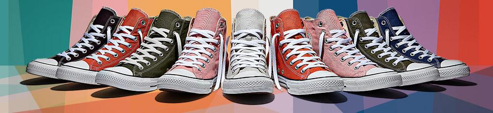 Voglia di colore con le nuove sneakers di Converse!