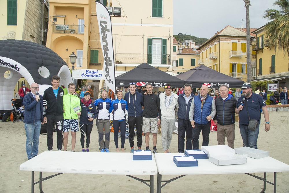 La premiazione della 7 edizione 2016 sci di fondo on the beach