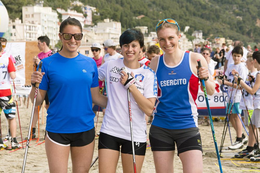 da sinistra: Alice Canclini, Francesca Baudin e Elisa Brocard