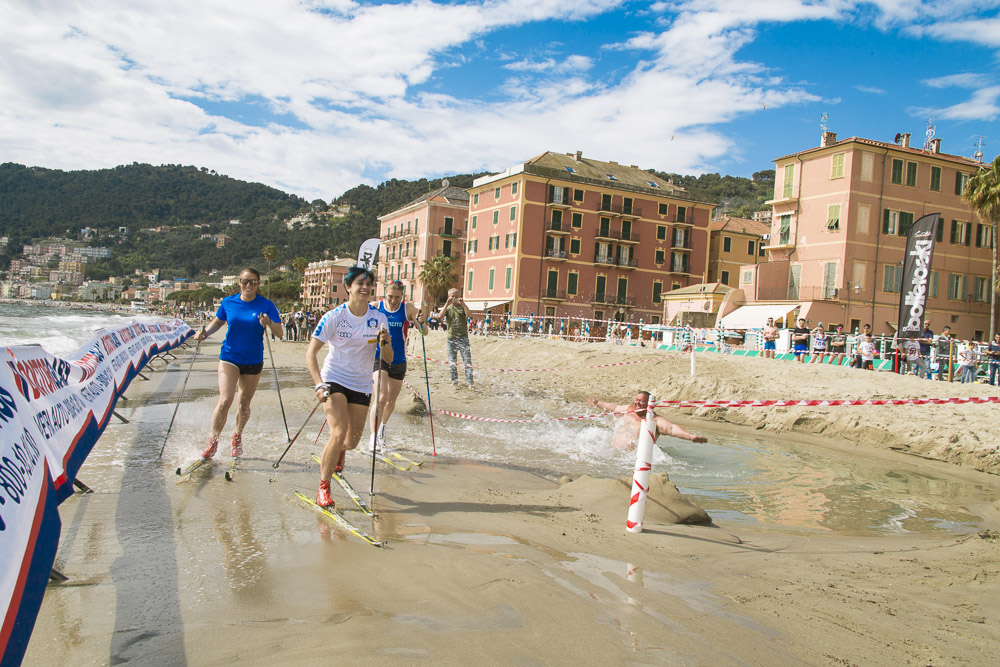 sci di fondo on the beach 7 edizione 2016