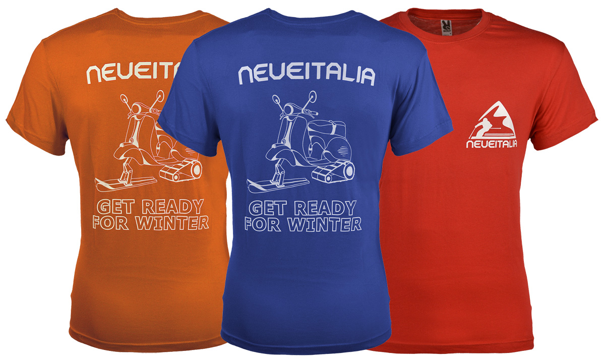 t-shirt neveitalia get ready for winter
