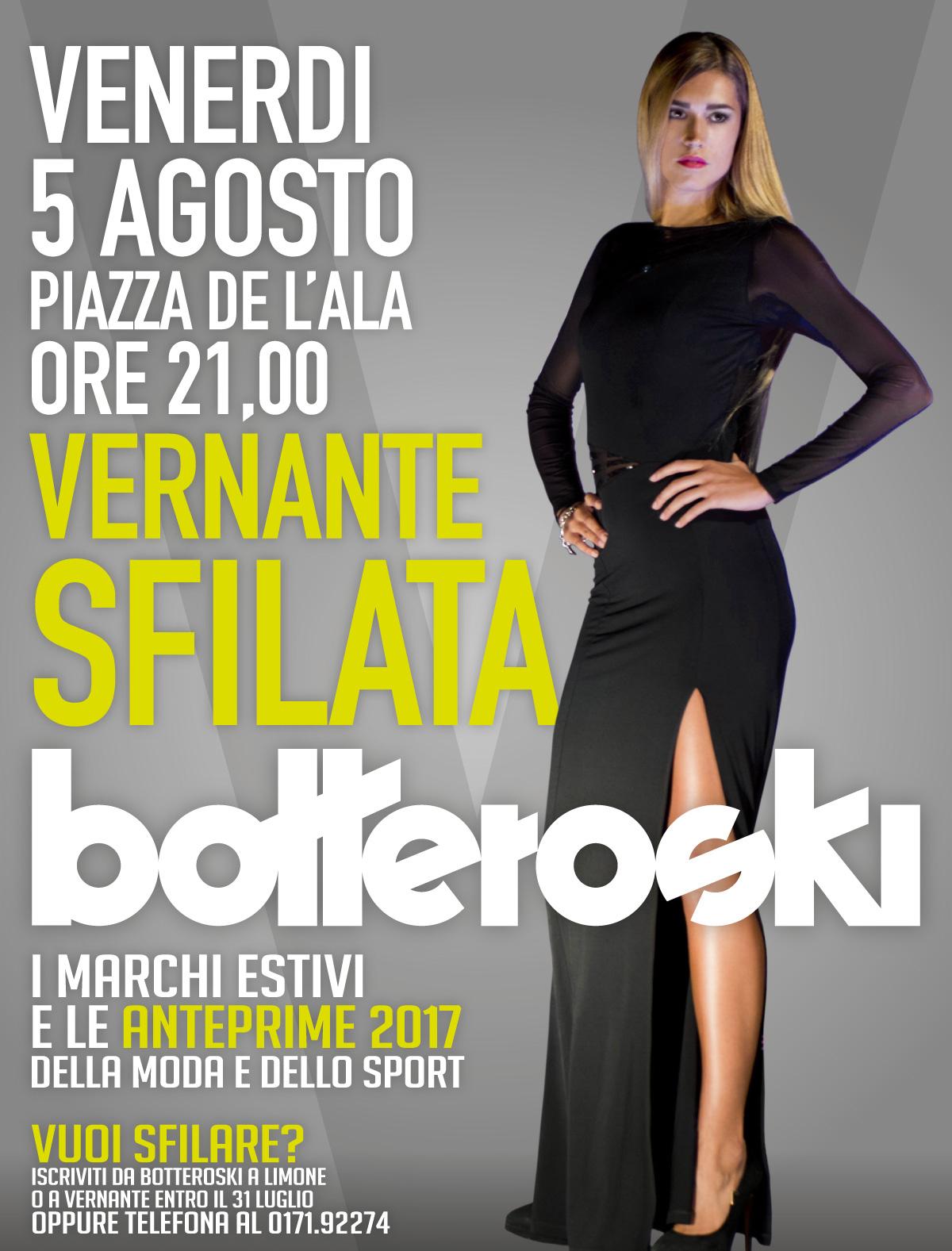 Sfilata Botteroski: appuntamento a Vernante con la moda e lo sport