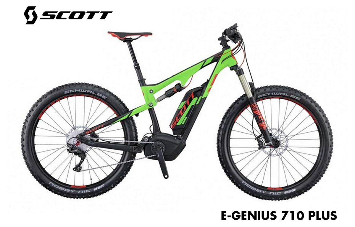 e-bike scott e-genius 710 plus