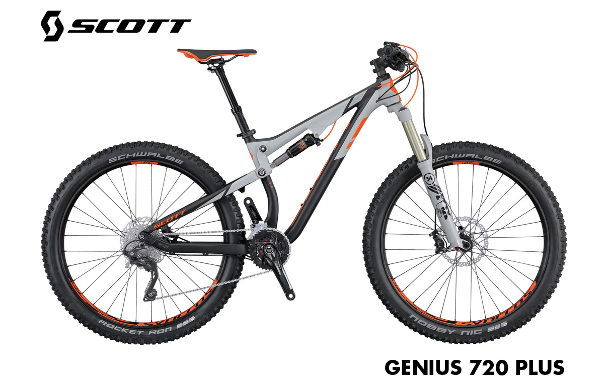 enduro scott genius 720 plus