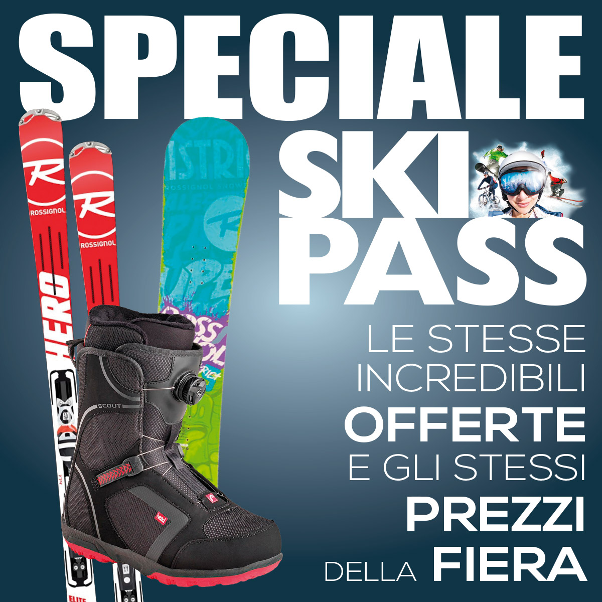 Speciale Skipass: online su botteroski.com gli stessi prezzi della fiera!