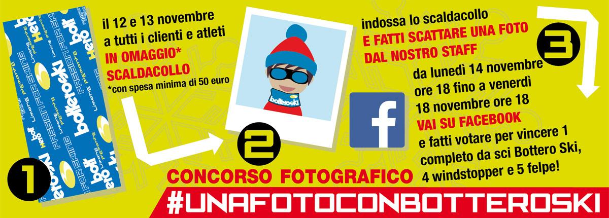 #UnafotoconBotteroSki: noi ti fotografiamo e tu vinci!
