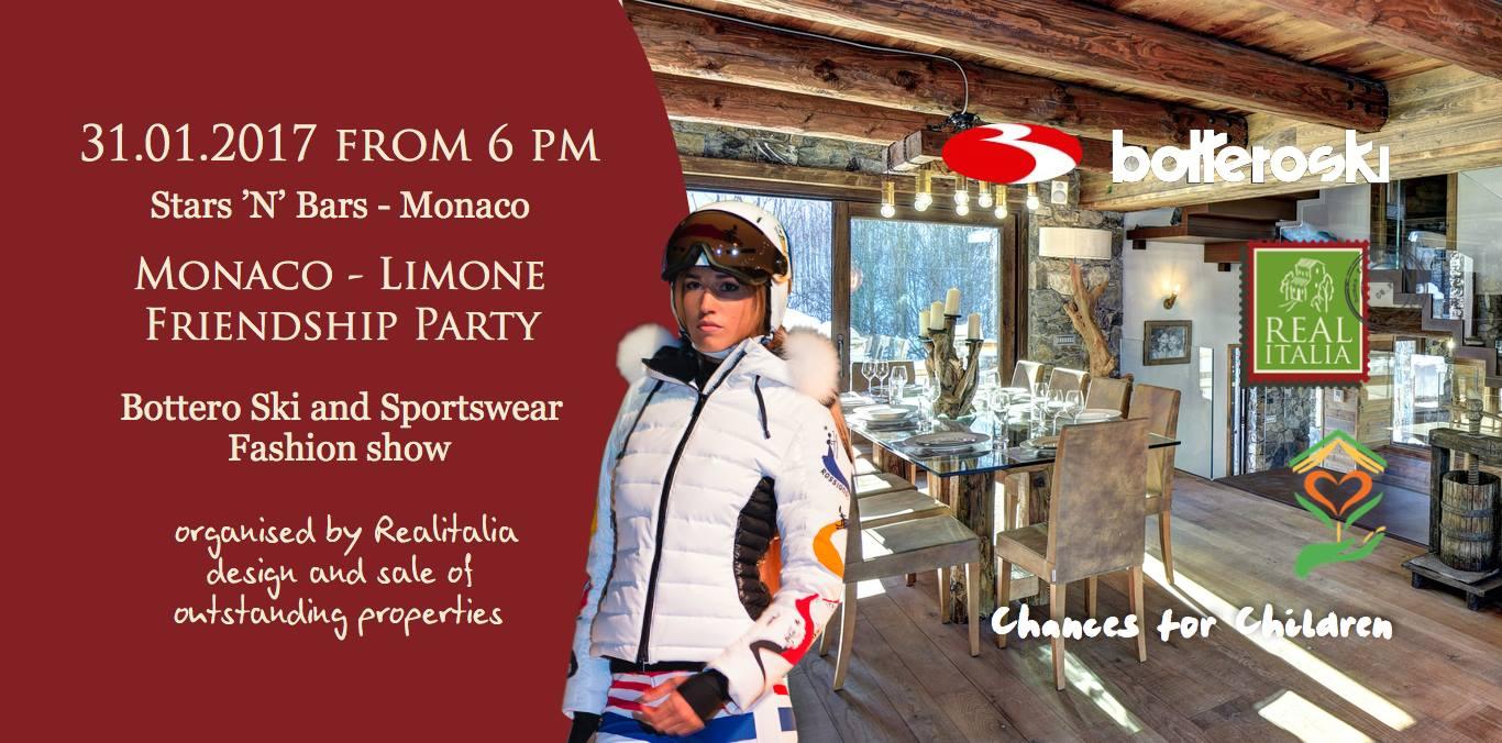 Monaco Limone Friendship party: appuntamento il 31 gennaio