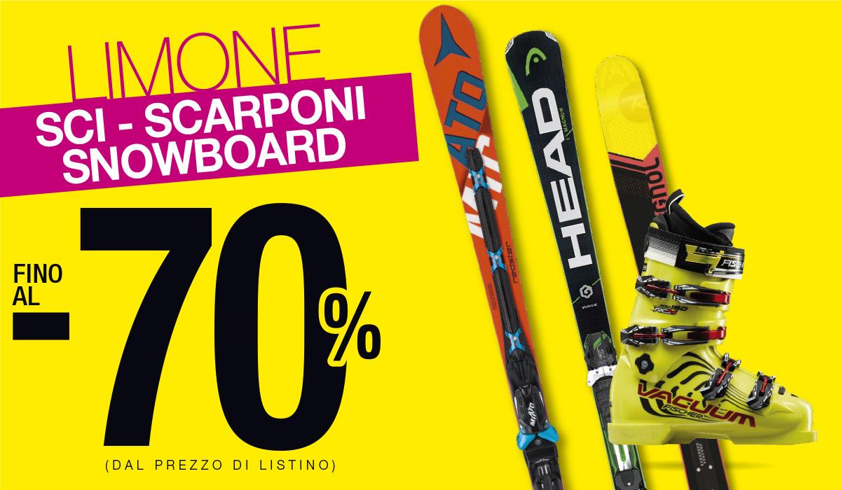 Ultimi ribassi: sci fino al 70% solo da Bottero Ski