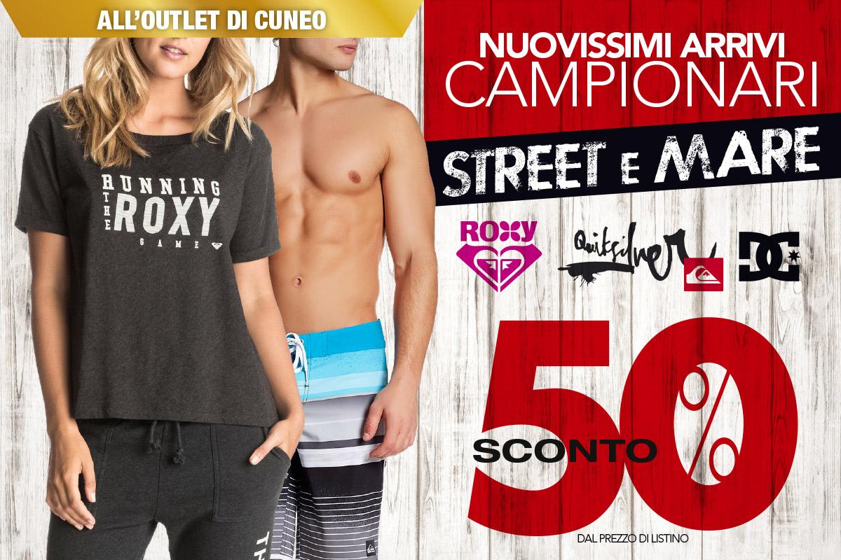 All'outlet di Cuneo non perdere i nuovi arrivi al 50%!