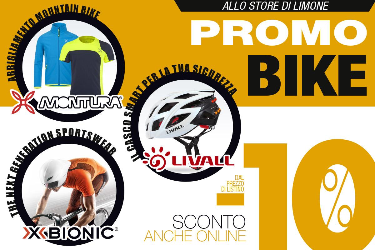 Promo bike: sconto del 10% su abbigliamento e accessori ciclismo