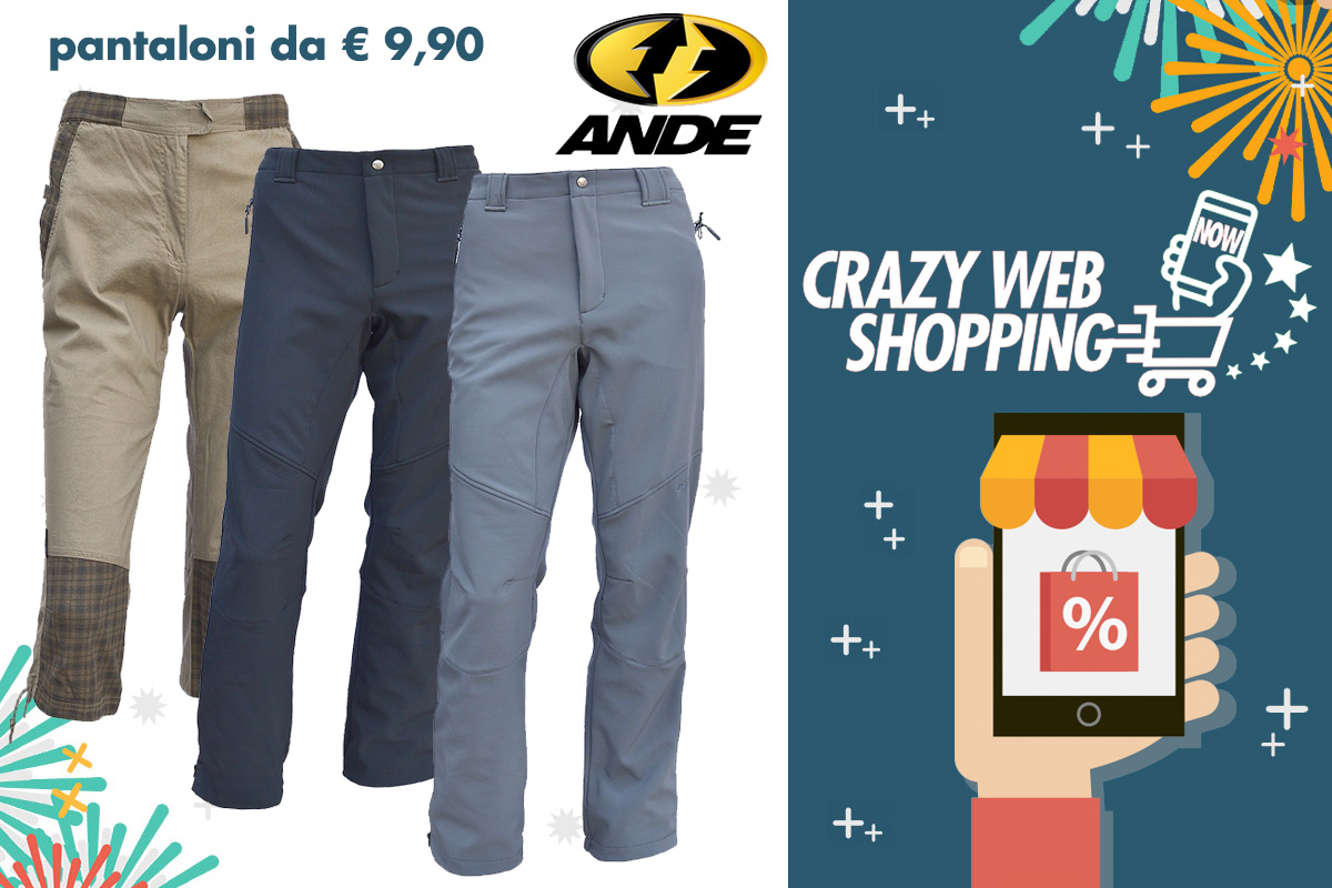 crazy web shopping banner ande