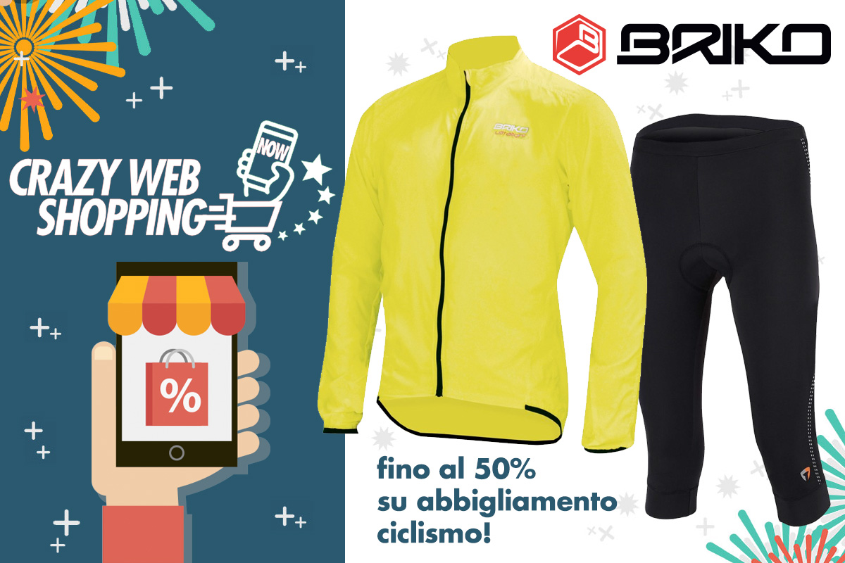 crazy web shopping banner briko ciclismo