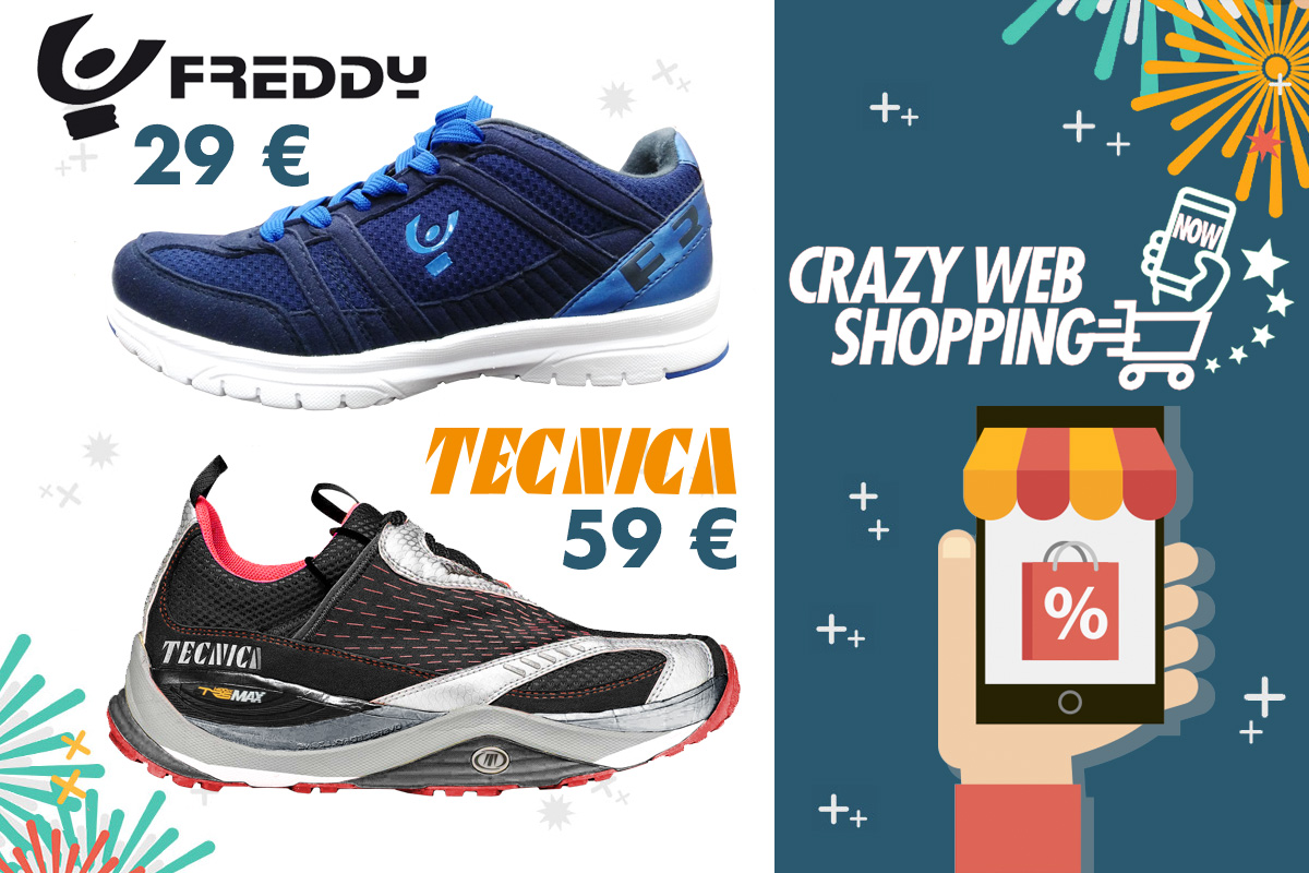 crazy web shopping banner freddy e tecnica