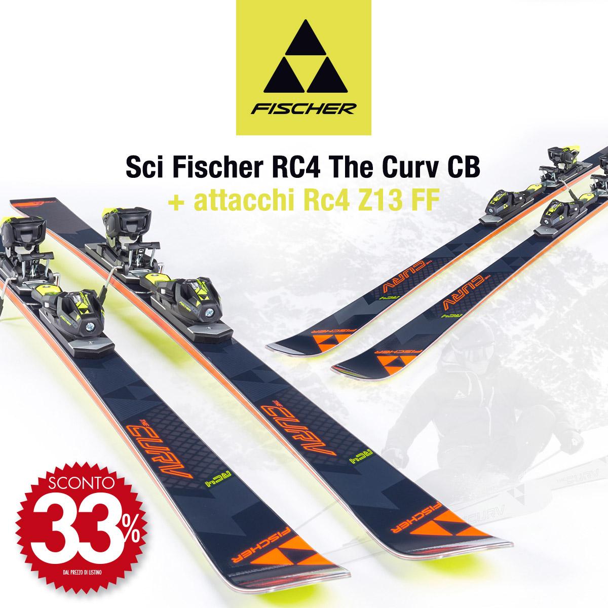 Fischer RC4 The Curv CB: adrenalina pura per sciatori senza compromessi