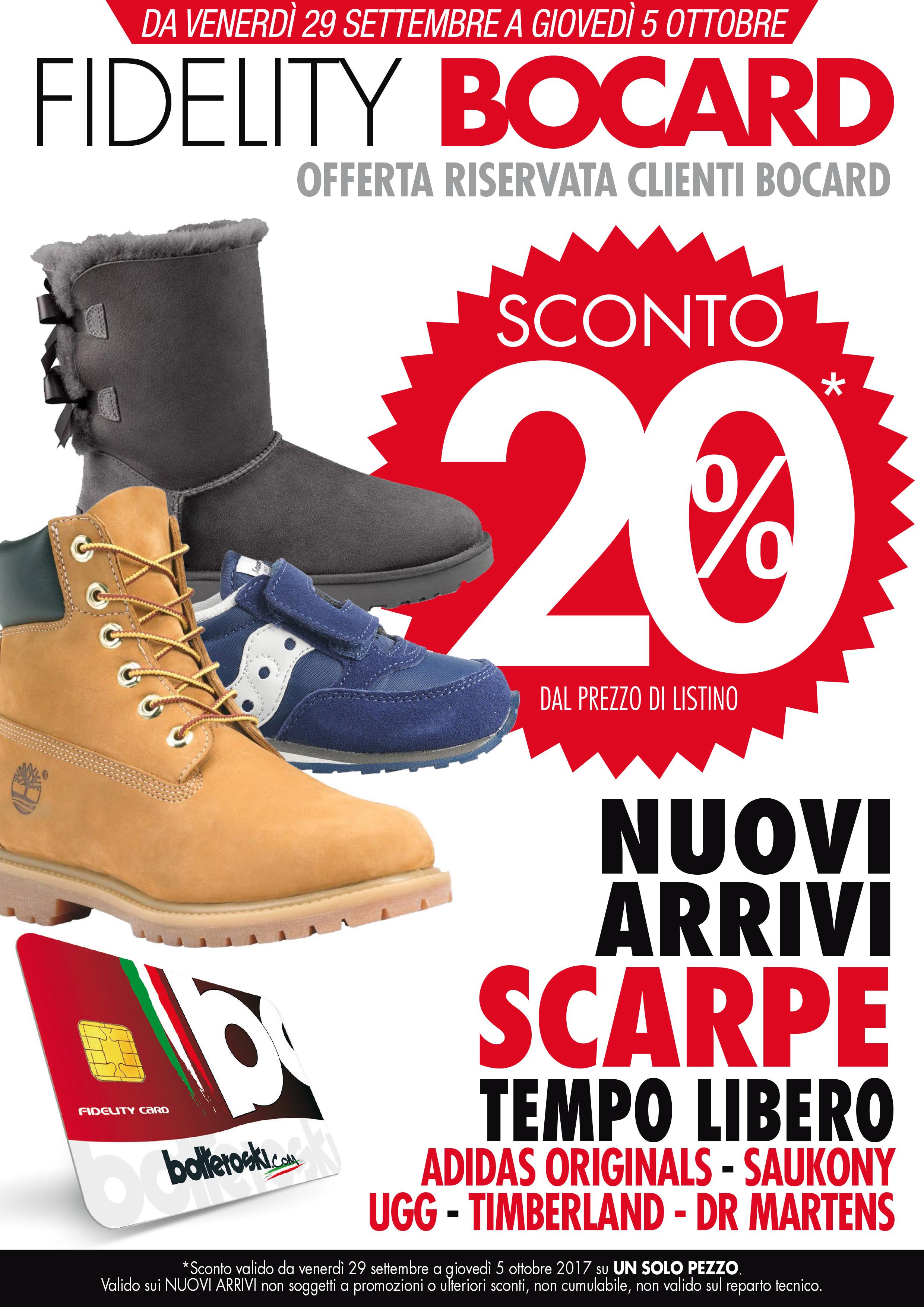 Nuovi arrivi scarpe tempo libero: approfitta dello sconto del 20%