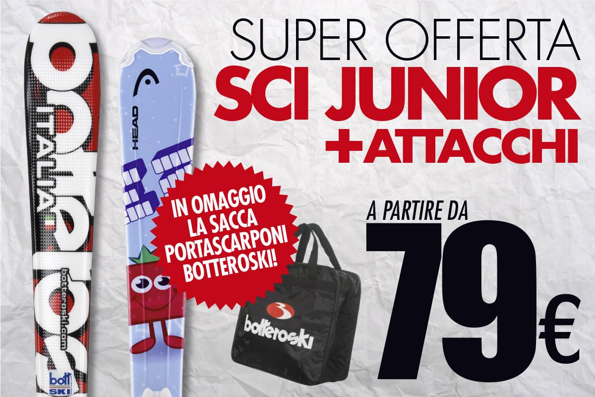 Sci junior: ecco le offerte Bottero Ski dedicate ai più piccoli
