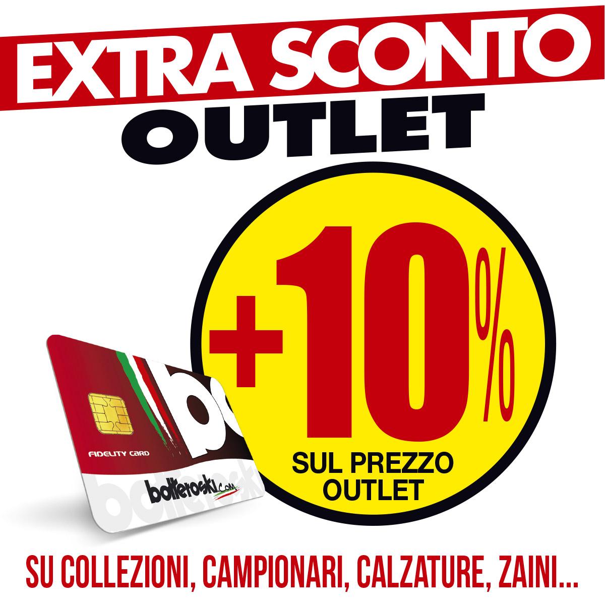 Extra sconto +10% negli outlet di Vernante e Cuneo!