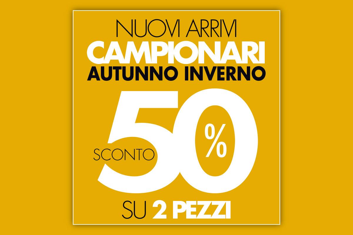 Outlet di Vernante: sconto del 50% sui nuovi arrivi!