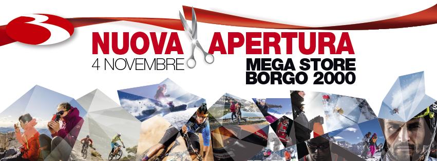 Mega Store Borgo 2000 Bottero Ski: vieni a trovarci il 4 novembre!