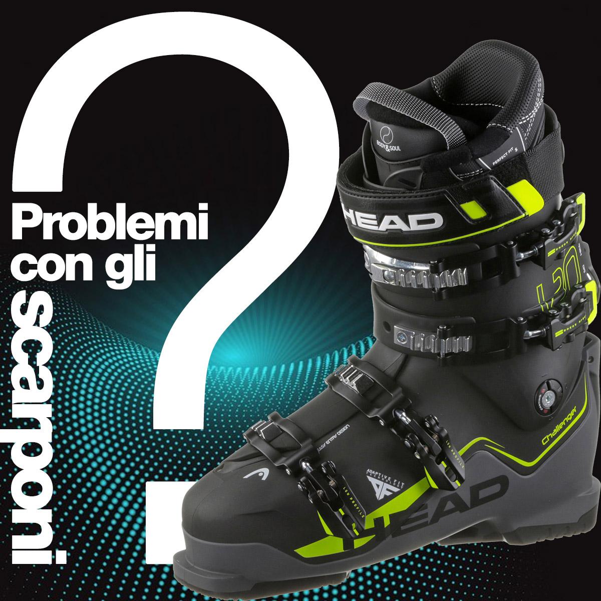 lowest price 355a7 4d6b4 Problemi con gli scarponi? Li risolviamo noi! - Bottero Ski