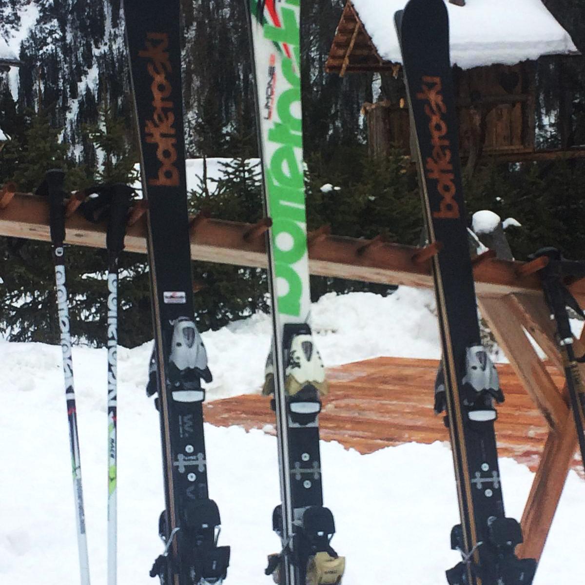 sci bottero ski grand elite e limone