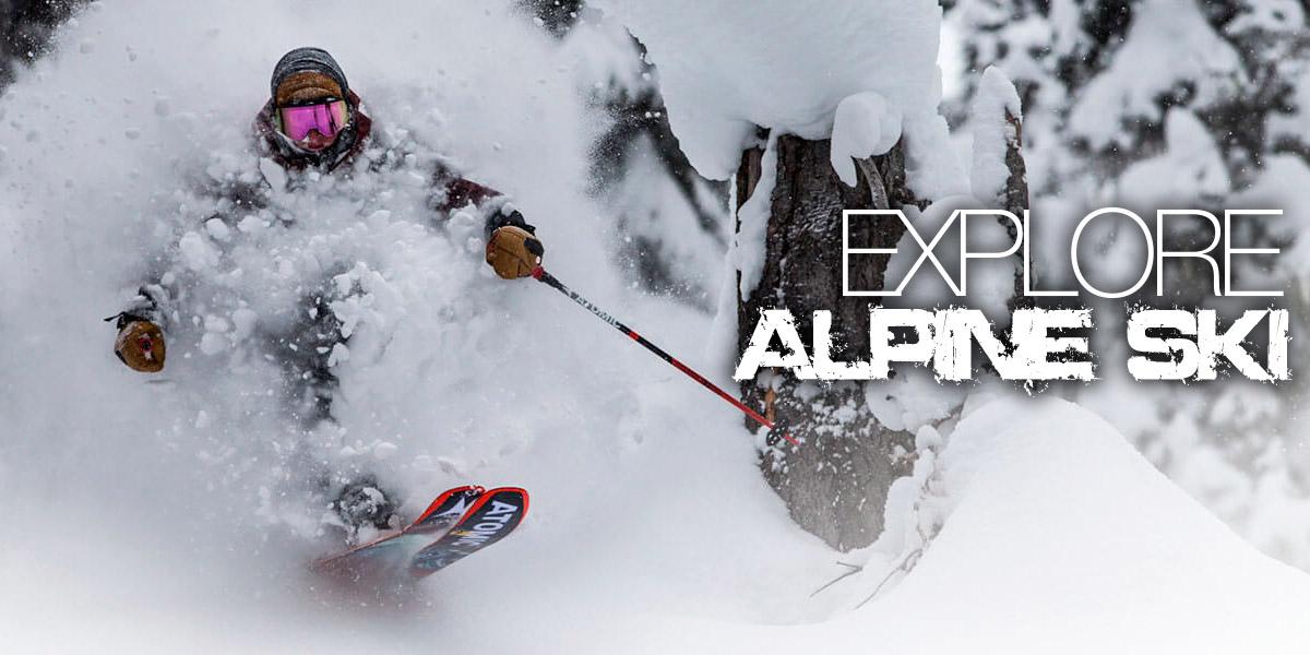 Alpine ski: tutto quello che ti serve con sconti fino al 60%