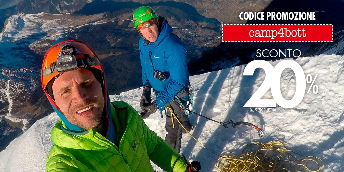 C.A.M.P.: sconto del 20% per le avventure outdoor