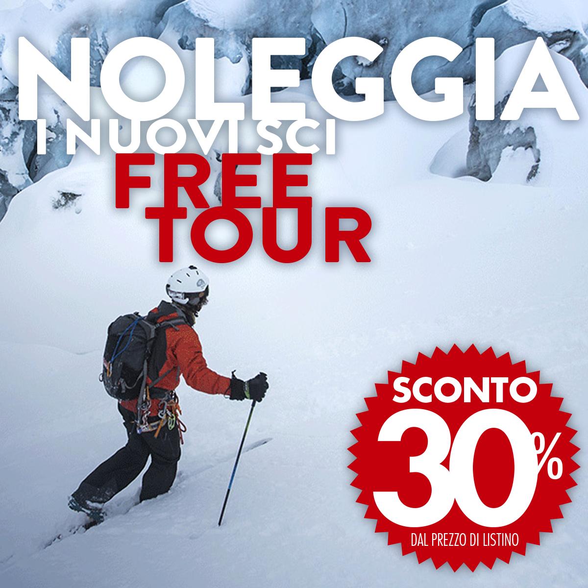 Noleggia da Bottero Ski i nuovi sci free tour!