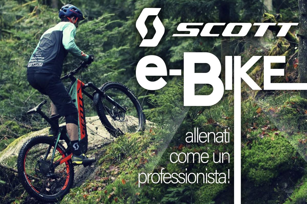 E-bike Scott: scegli il tuo universo!