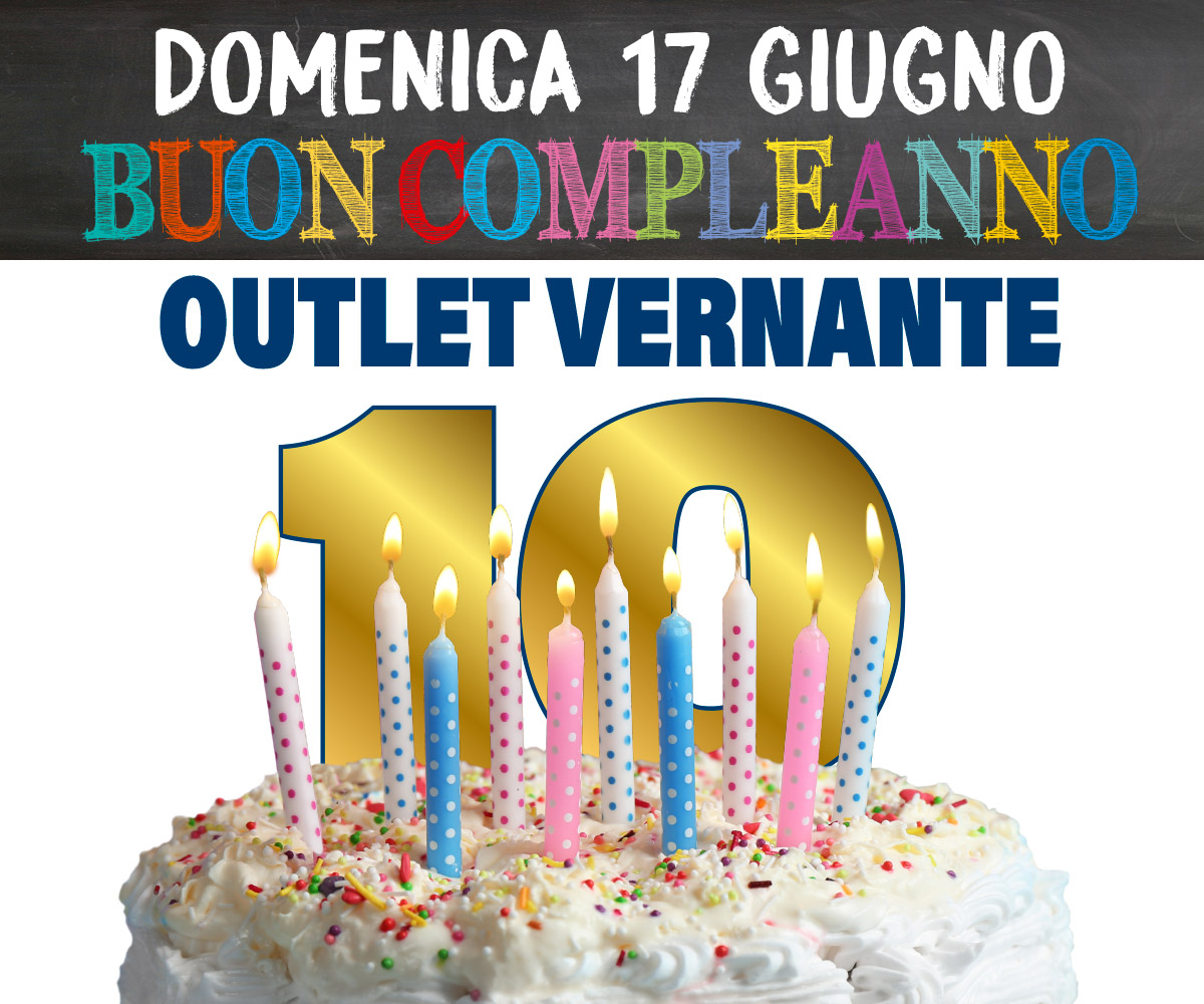 Compleanno Outlet vernante