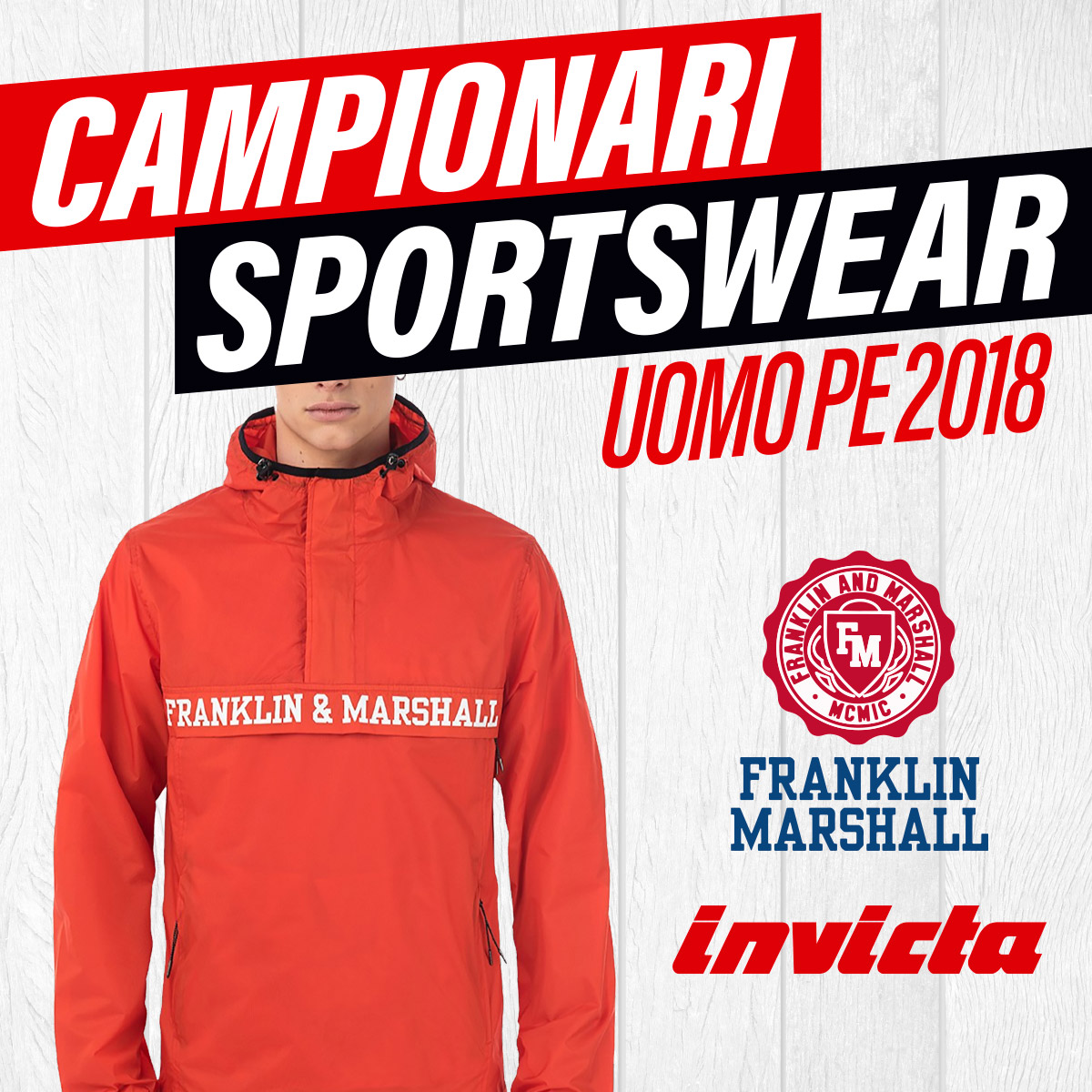 campionari sportwear primavera estate 2018 uomo