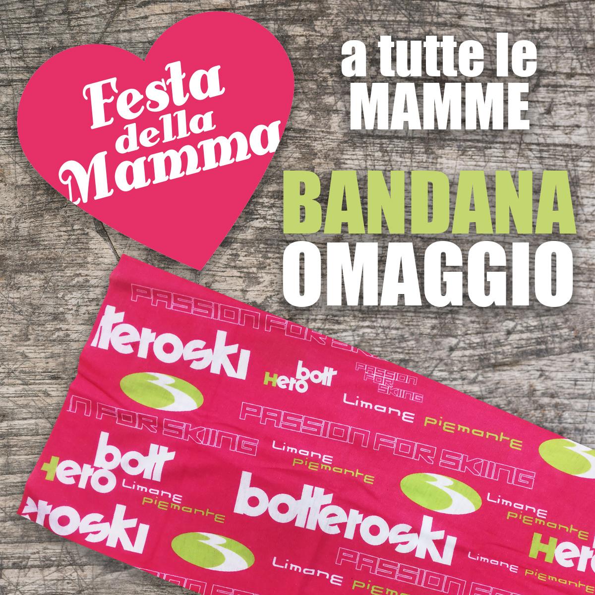 Festa della mamma: in regalo una bandana Bottero Ski a tutte le mamme!