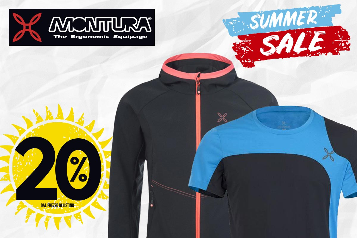 Summer sale: non perdere le offerte montagna, running e sneakers